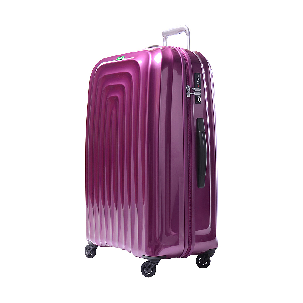 Lojel Wave XL Luggage Violet Lojel Hardside Checked