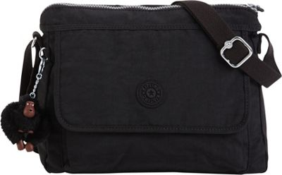 Kipling Aisling Crossbody Black - Kipling Fabric Handbags