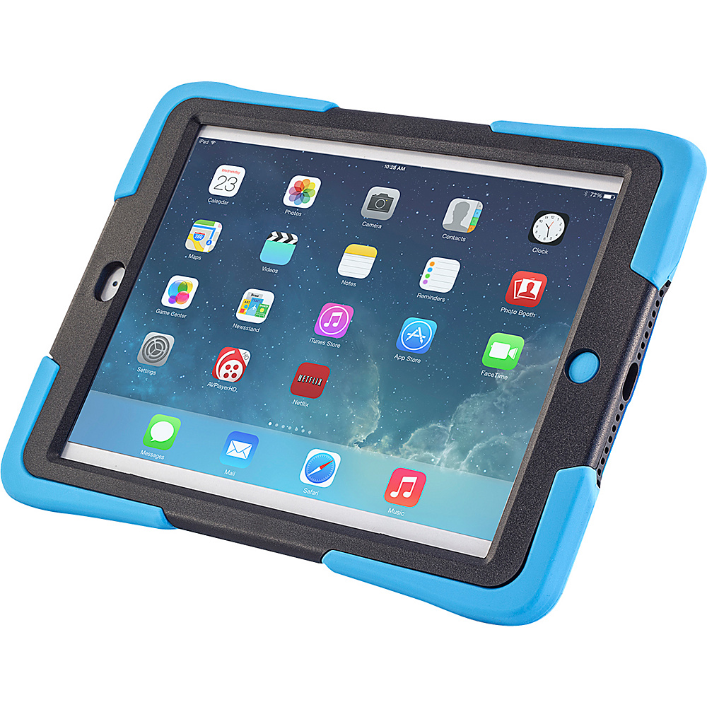 Devicewear Caseiopeia Keepsafe Kick for iPad Air Light Blue Devicewear Electronic Cases