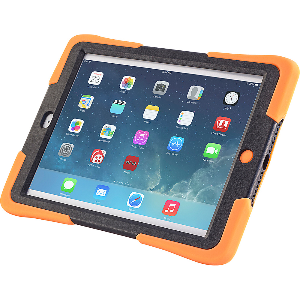 Devicewear Caseiopeia Keepsafe Kick for iPad Air Orange Devicewear Electronic Cases