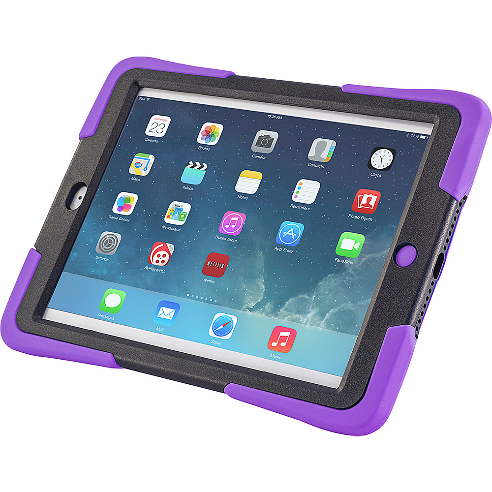 Devicewear Caseiopeia Keepsafe Kick for iPad Air Purple Devicewear Electronic Cases