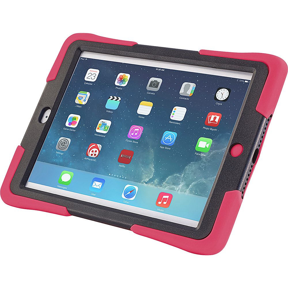 Devicewear Caseiopeia Keepsafe Kick for iPad Air Red Devicewear Electronic Cases