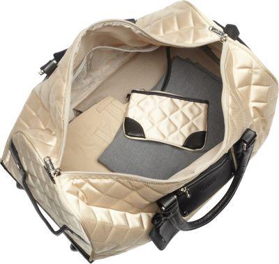 Bugatti Vail Duffle Bag on Wheels Black - Bugatti Travel Duffels