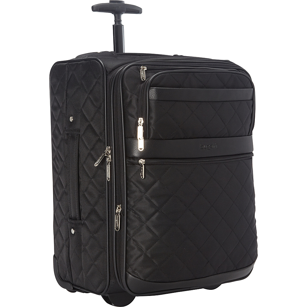 Bugatti Vail Soft Luggage Black Bugatti Softside Carry On