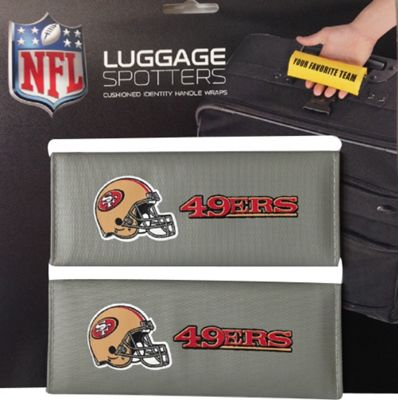 Luggage Spotters NFL San Francisco 49ers Luggage Spotter Gray - Luggage Spotters Luggage Accessories