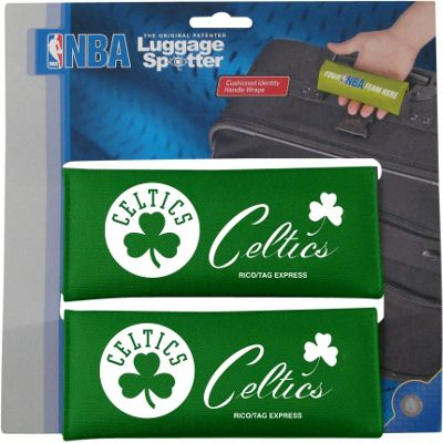 Luggage Spotters Luggage Spotters NBA Boston Celtics Luggage Spotter Green - Luggage Spotters Luggage Accessories