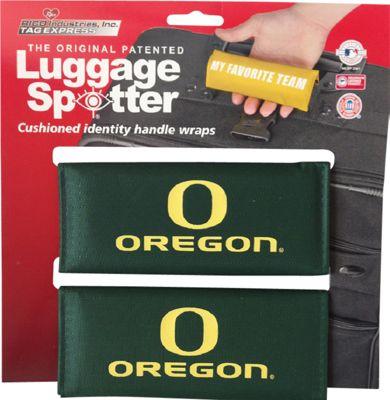 Luggage Spotters NCAA Oregon Ducks Luggage Spotter Green - Luggage Spotters Luggage Accessories