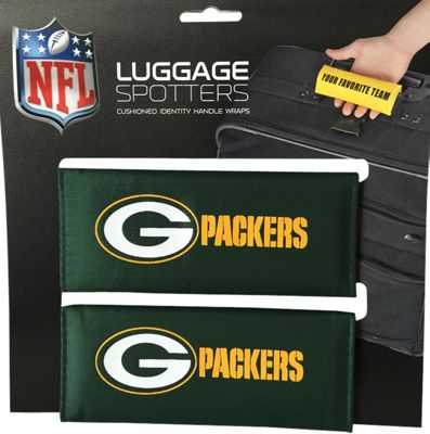 Luggage Spotters NFL Green Bay Packers Luggage Spotters Green - Luggage Spotters Luggage Accessories