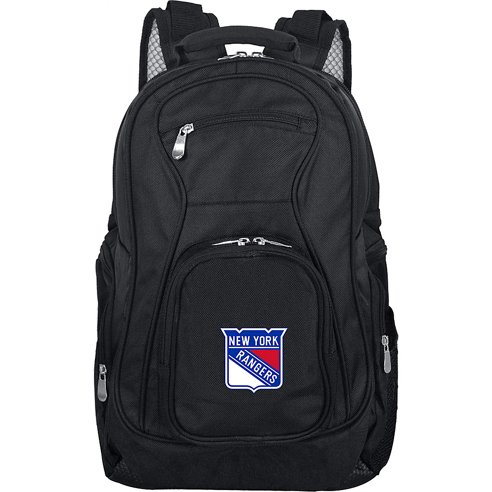 "Denco Sports Luggage NHL 19"" Laptop Backpack New York Rangers - Denco Sports Luggage Laptop Backpacks"