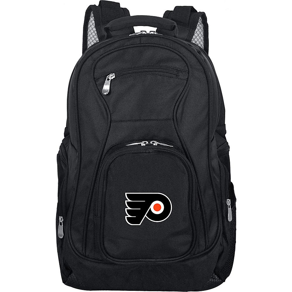 Denco Sports Luggage NHL 19 Laptop Backpack Philadelphia Flyers - Denco Sports Luggage Laptop Backpacks - Backpacks, Laptop Backpacks