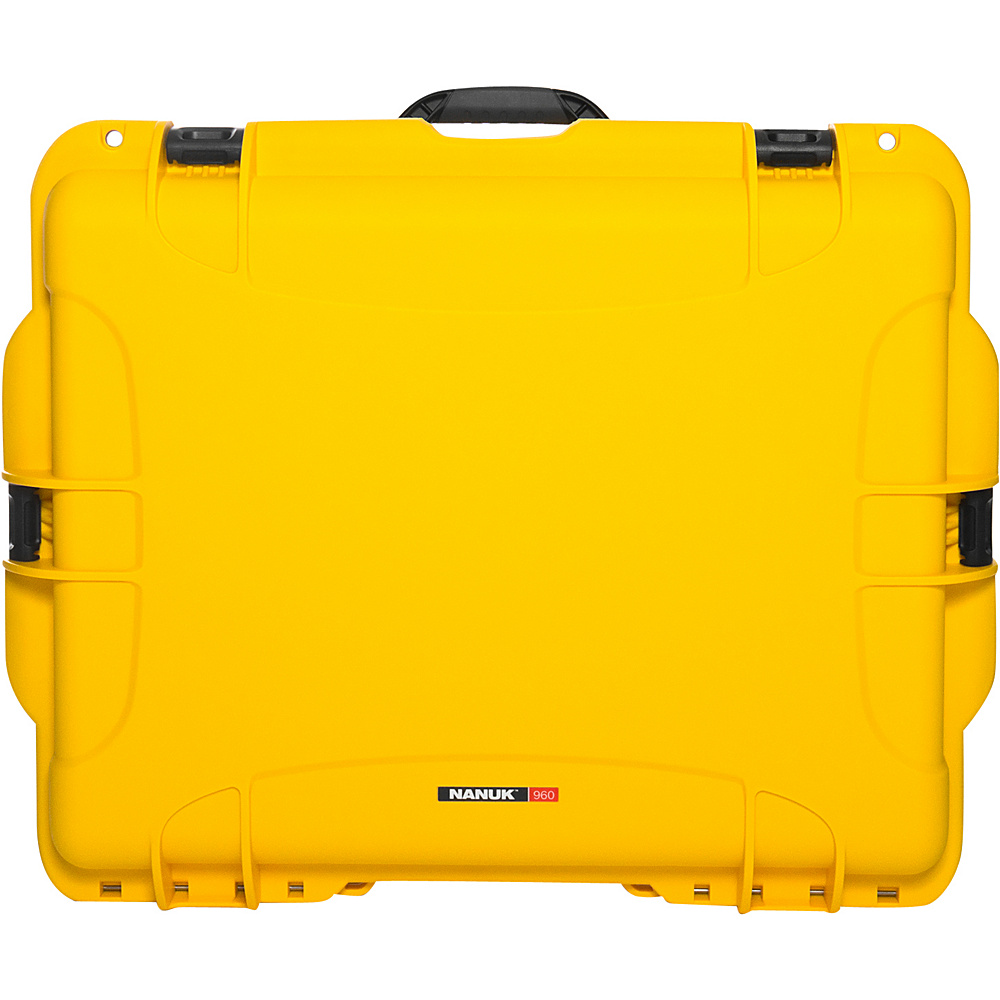 NANUK 960 Case With Padded Divider Yellow NANUK Hardside Luggage
