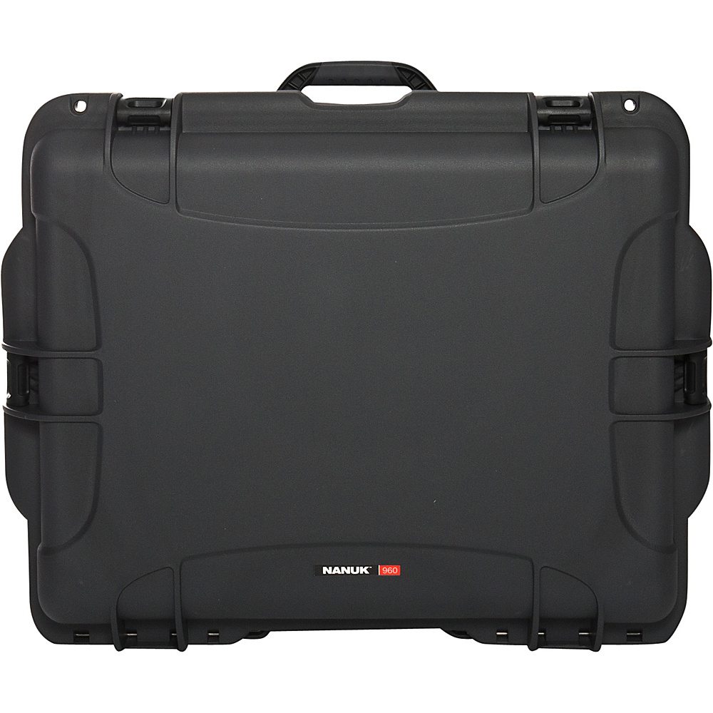 NANUK 960 Case With Padded Divider Grey NANUK Hardside Luggage