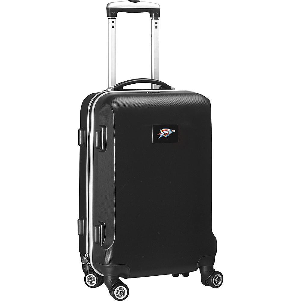 Denco Sports Luggage NBA 20 Domestic Carry On Black Oklahoma City Thunder Denco Sports Luggage Hardside Carry On