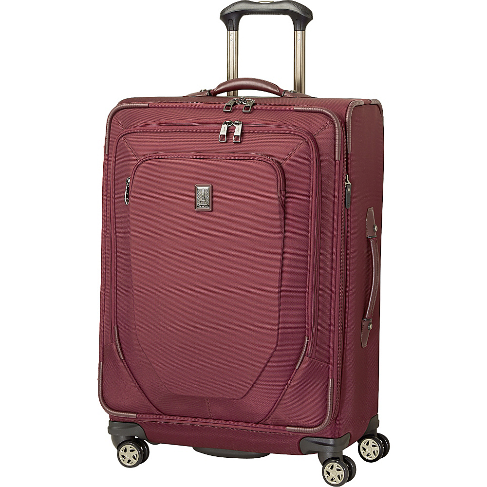 "Travelpro Crew 10 25"" Expandable Spinner - CLOSEOUT Merlot - Travelpro Large Rolling Luggage"