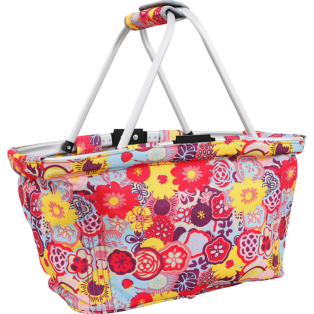J World New York Pica Picnic Tote POPPY PANSY J World New York Outdoor Accessories