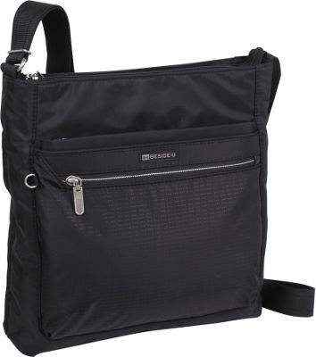 Image of Beside-U Albans Crossbody Black - Beside-U Fabric Handbags