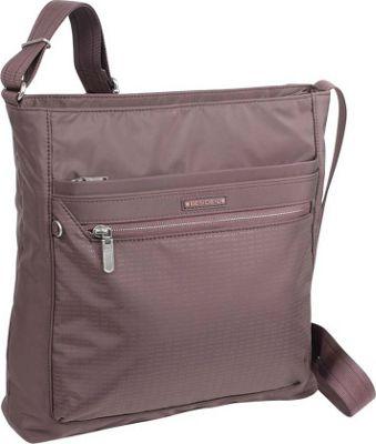 Image of Beside-U Albans Crossbody Iron Brown - Beside-U Fabric Handbags
