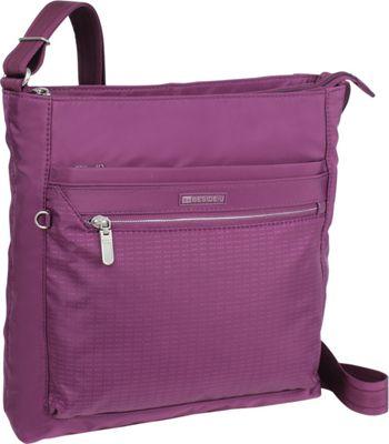 Image of Beside-U Albans Crossbody Wineberry - Beside-U Fabric Handbags