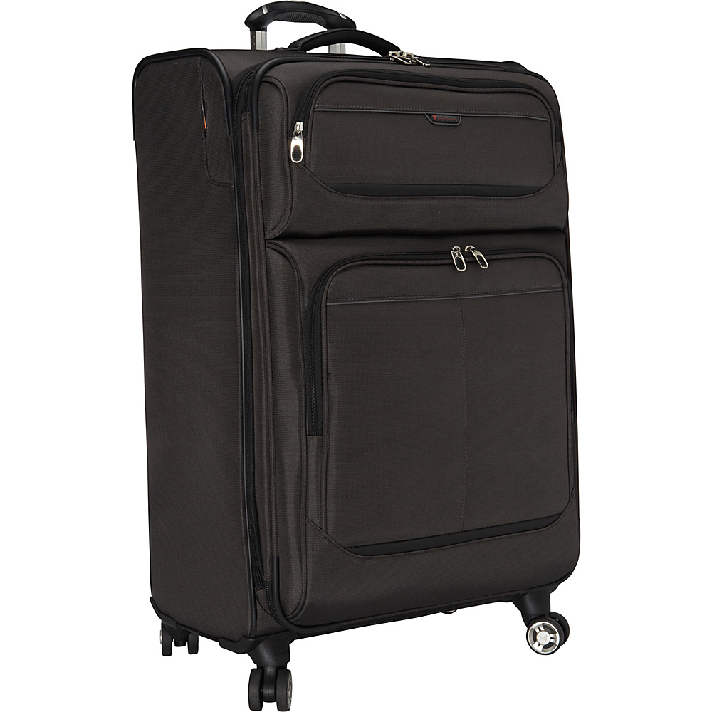 Ricardo Beverly Hills Mar Vista 28 Inch 4 Wheeled Expandable Upright Graphite Ricardo Beverly Hills Softside Checked