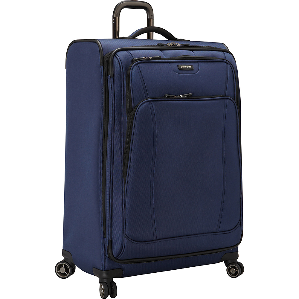 Samsonite DK3 29 Spinner Luggage Space Blue Samsonite Softside Checked