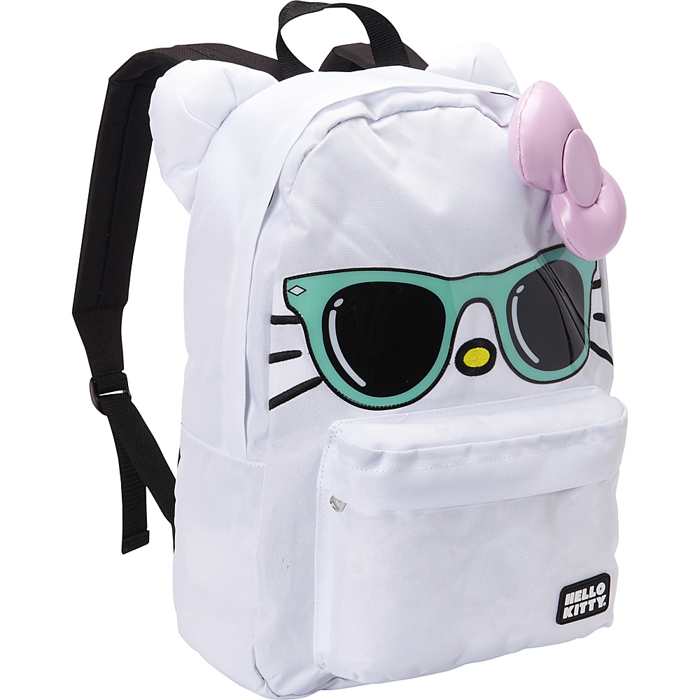 Loungefly Hello Kitty Mint Sunglasses/ Pink Bow Face Backpack