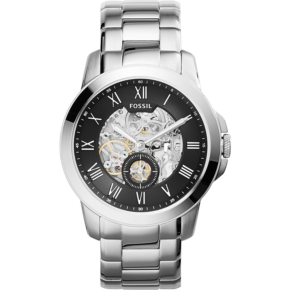 Fossil Grant Watch Silver - Fossil Watches - Fashion Accessories, Watches