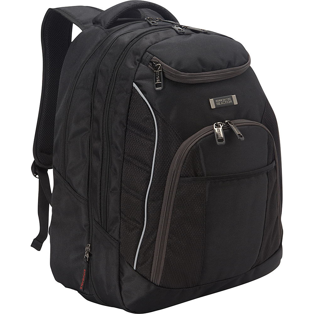 Kenneth Cole Reaction Pack Be Nimble Laptop Backpack Black Kenneth Cole Reaction Business Laptop Backpacks