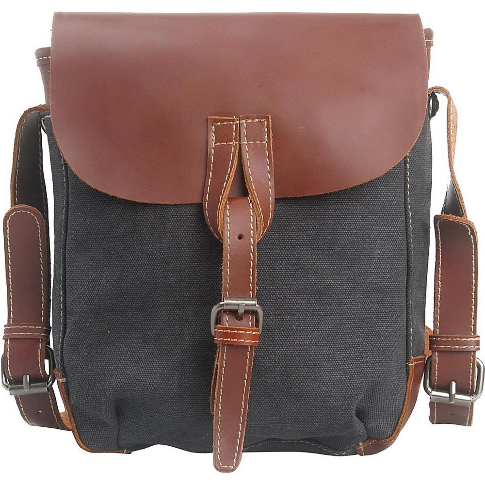 Vagabond Traveler Canvas Stylish Shoulder Bag Grey - Vagabond Traveler Other Mens Bags - Work Bags & Briefcases, Other Men's Bags