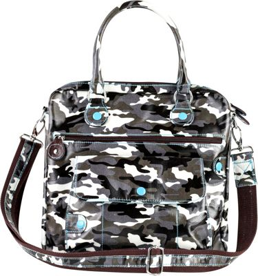 Urban Junket Gracie Crossbody Grey Camouflage - Urban Junket Manmade Handbags