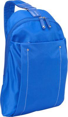 Women In Business Miami City Slim Backpack - 14 inch Blue - Women In Business Slings