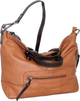 Nino Bossi Colossal Crossbody Cognac - Nino Bossi Leather Handbags