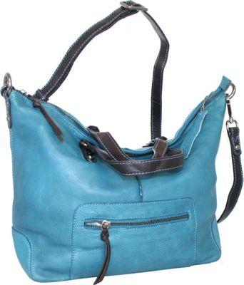 Nino Bossi Colossal Crossbody Denim - Nino Bossi Leather Handbags