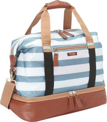 Po Campo Midway Weekender Sky Stripes Coated Poly - Po Campo Other Sports Bags