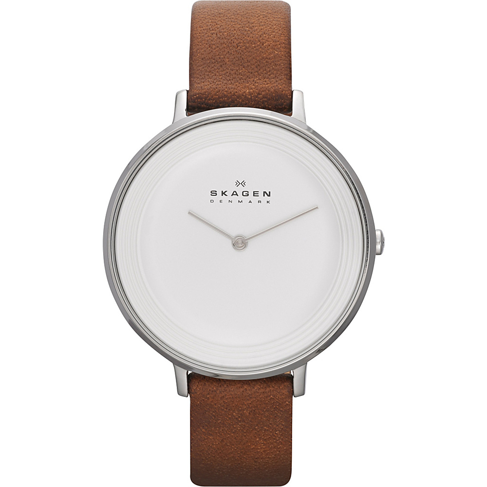 Skagen Ditte Watch Brown Skagen Watches