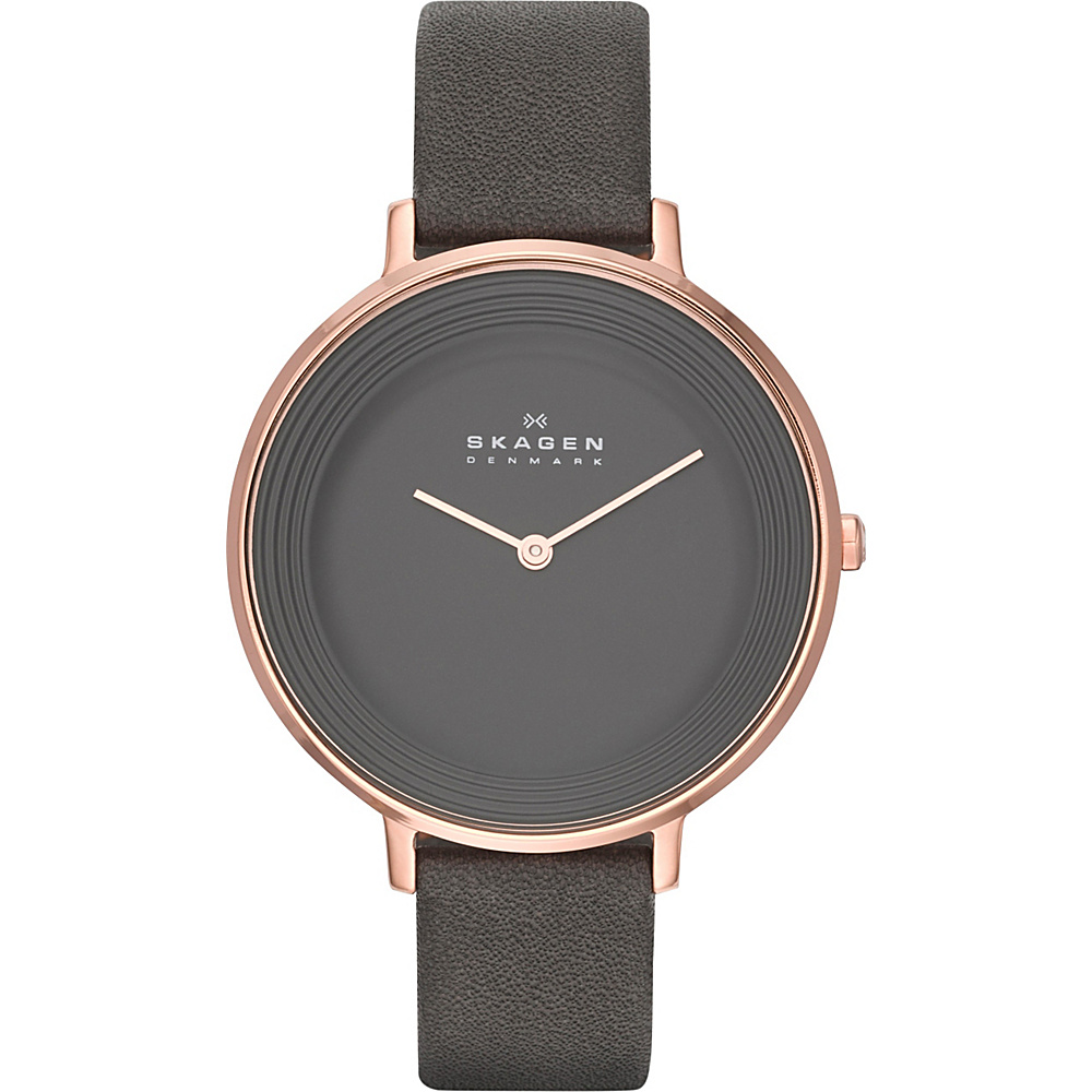 Skagen Ditte Watch Grey Skagen Watches