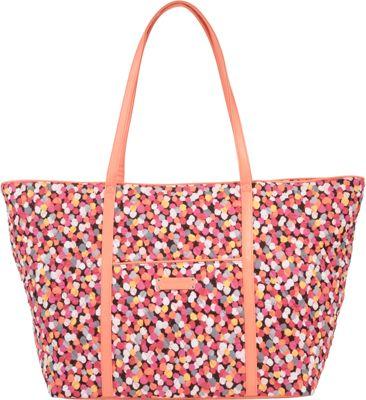 Vera Bradley Trimmed Vera Traveler Pixie Confetti - Vera Bradley Fabric Handbags