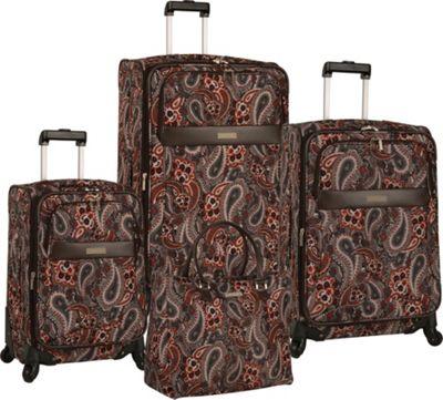 Anne Klein Luggage Portland 4 Piece Set Red - Anne Klein Luggage Luggage Sets