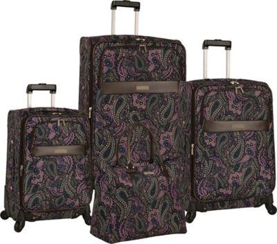 Anne Klein Luggage Portland 4 Piece Set Pink - Anne Klein Luggage Luggage Sets