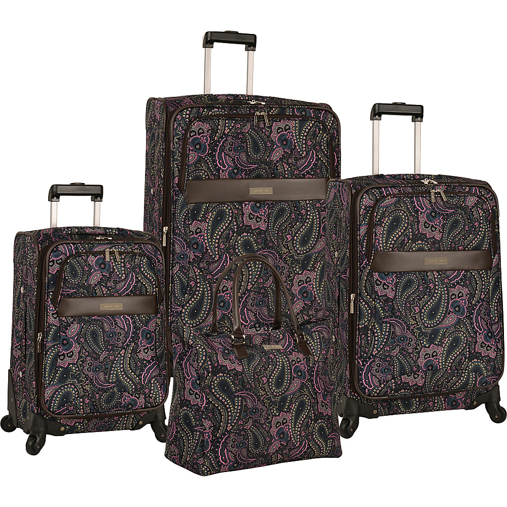 0e07a5fbe UPC 047505849239 product image for Anne Klein Luggage Portland 4 Piece Set  Pink - Anne Klein ...