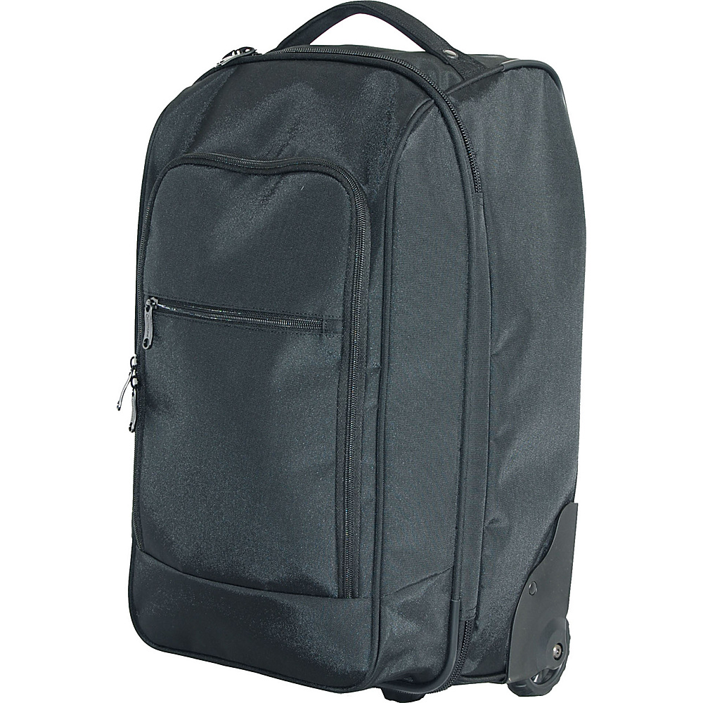 Netpack Roller Wheeled Bag Black Netpack Softside Carry On