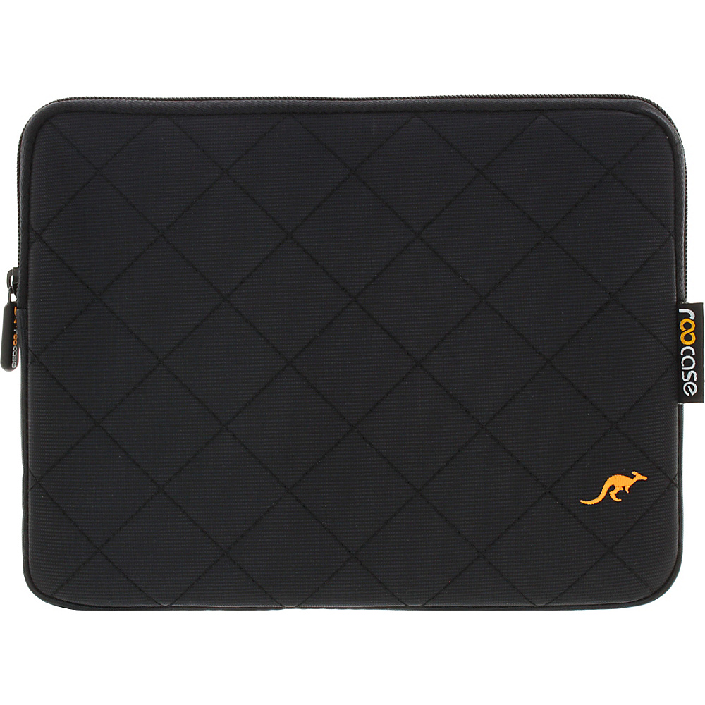 rooCASE Travel Mate 10.1 Tablet Sleeve Cover Case for iPad Air Galaxy Tab 10 inch Tablet Black rooCASE Electronic Cases