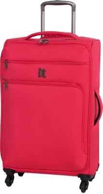 it luggage MegaLite Luggage Collection 27.4 inch Spinner- eBags Exclusive Fiery Red - it luggage Softside Checked