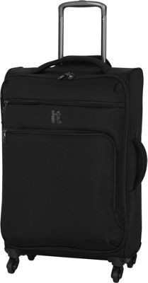 it luggage MegaLite Luggage Collection 27.4 inch Spinner- eBags Exclusive Black - it luggage Softside Checked
