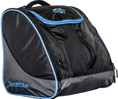 Sportube Freerider Gear and Boot Bag Black/Blue - Sportube Ski and Snowboard Bags