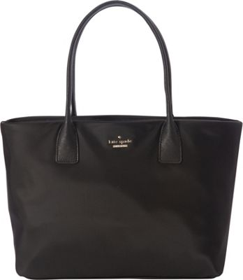 kate spade new york Classic Nylon Catie Shoulder Bag Black - kate spade new york Designer Handbags