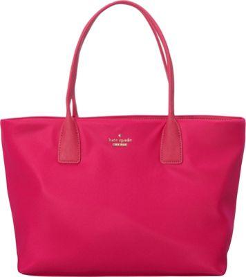 kate spade new york Classic Nylon Catie Shoulder Bag Sweetheart Pink - kate spade new york Designer Handbags