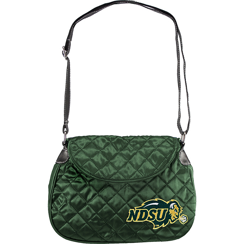 Littlearth Quilted Saddlebag - College Teams North Dakota State University - Littlearth Fabric Handbags - Handbags, Fabric Handbags
