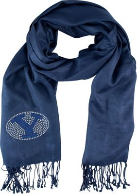 Littlearth Pashi Fan Scarf - College Teams Brigham Young University - Littlearth Hats/Gloves/Scarves