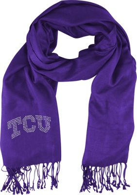 Littlearth Pashi Fan Scarf - College Teams Texas Christian University - Littlearth Hats/Gloves/Scarves