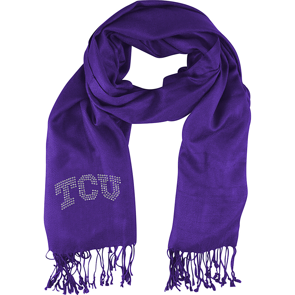 Littlearth Pashi Fan Scarf - College Teams Texas Christian University - Littlearth Hats/Gloves/Scarves - Fashion Accessories, Hats/Gloves/Scarves